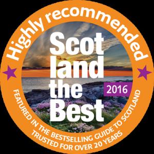 2016 Scotland the Best badge